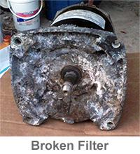 swimming pool filter maintenance
